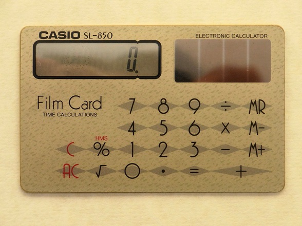 CASIO FILM CARD SL850