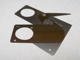 カード式ペリカンはさみ はさみとして使う場合