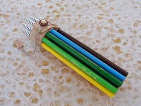ペンシルタバネラー 色鉛筆装着例2