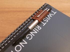 ペンホルダーは別のノートに付け替えても使える