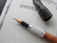 鉛筆を削る楽しみ
