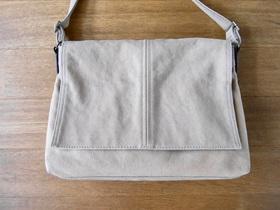 MUJIの帆布バッグ オリジナル