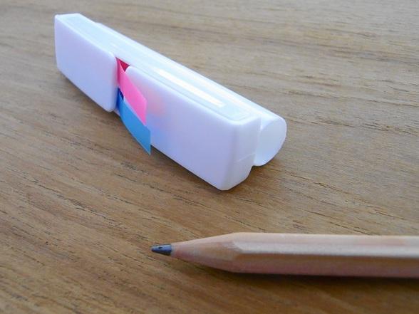 付せん付き鉛筆キャップというもの