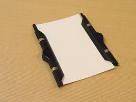 5×3情報カードにバインダーボールとバインダーシャープを付ける