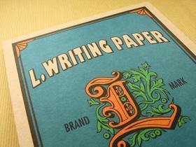L.WRITING.PAPER アップ