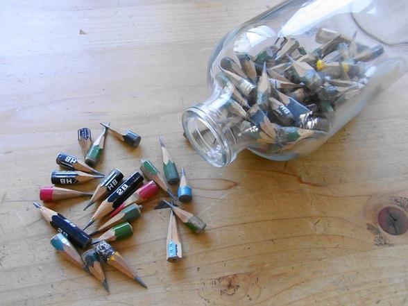 我が家の鉛筆遺産