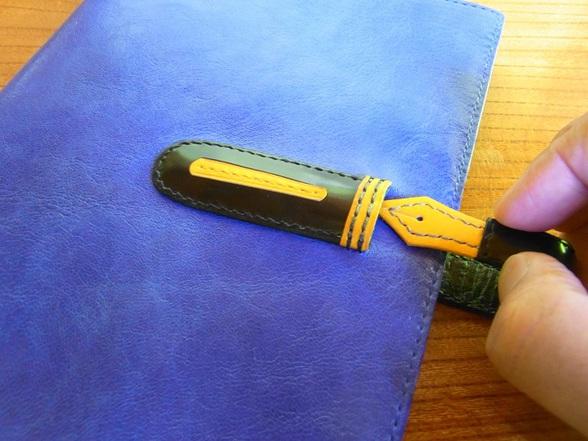 限定生産品「万年筆愛好家のためのノートカバー」をアップしました。