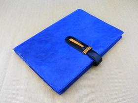 万年筆愛好家のためのノートカバー 表面