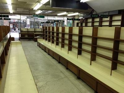 戸田書店(旧清水本店)の書棚2
