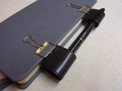 尖ったペン先をカバーすると安全