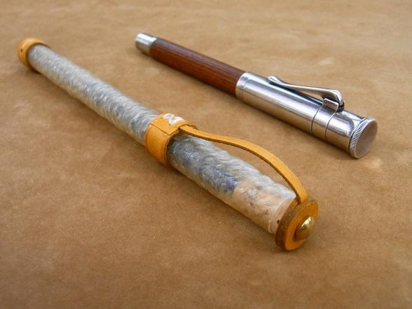 ペン型インクカートリッジケース