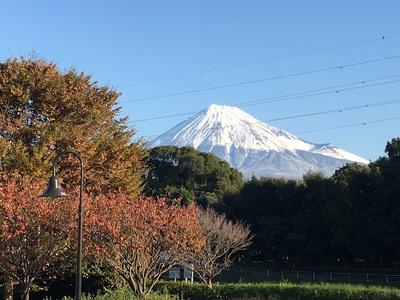 富士中央公園からの富士山